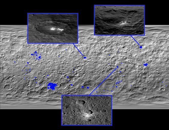 Map of Ceres