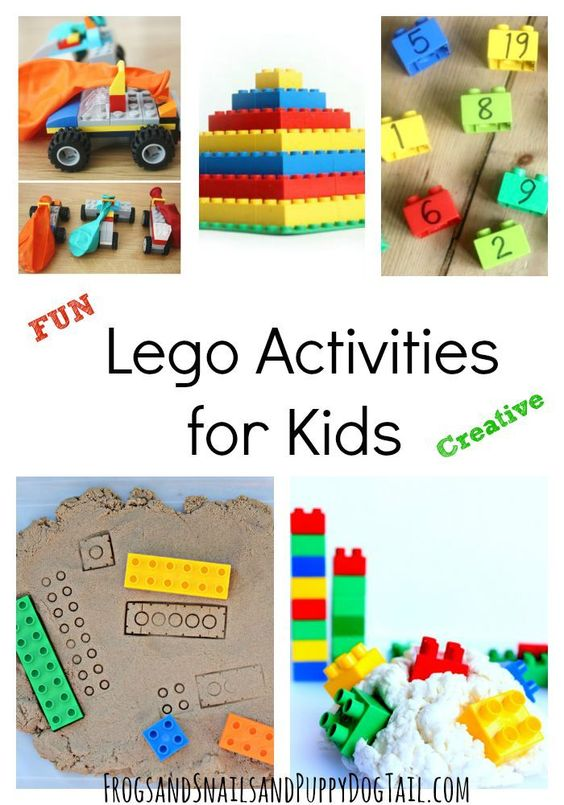 Fun lego activities for kids activities lego and lego for Lego crafts for kids