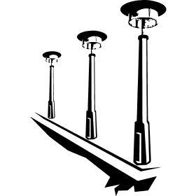 DDR Laternen - Drei alte Laternen wie sie fr�her in der DDR gebaut wurden.