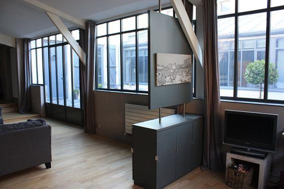 d coration atelier d 39 artiste loft. Black Bedroom Furniture Sets. Home Design Ideas