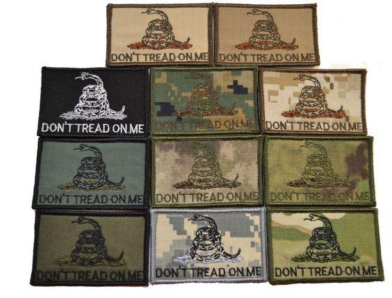 Tactical Gear Junkie - Don't Tread on Me Gadsden Snake -  3x2 Hat Patch, $4.99 (http://www.tacticalgearjunkie.com/dont-tread-on-me-gadsden-snake-3x2-hat-patch/)
