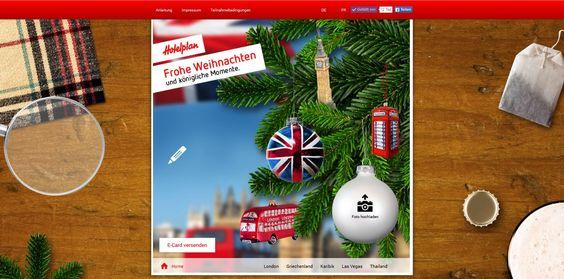 Überraschen Sie Ihre Liebsten mit einer originellen Weihnachts- E-Card aus London. Jetzt E-Card versenden.