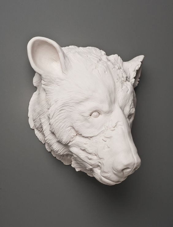 Porcelain Sculptures by Kate McDowell http://designwrld.com/porcelain-sculptures-by-kate-macdowell/