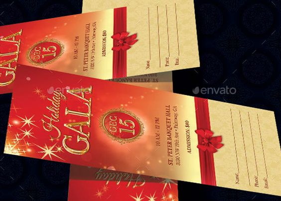 your event it is geared towards usage for any holiday event ticket