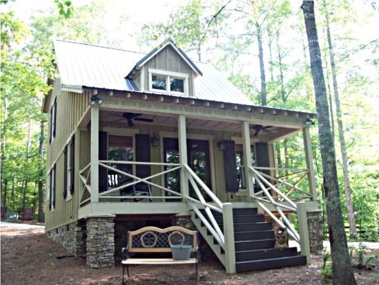 Max Fulbright Designs Small Cabin House Plan 794 Sq Ft