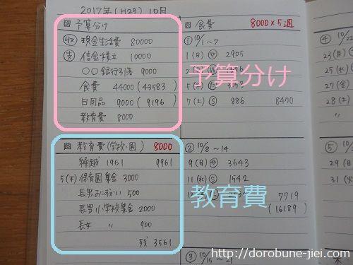私の家計簿は100均手帳です ズボラで簡単な書き方と項目を紹介 家計