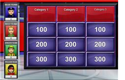 Math Jeopardy Games - fractions, decimals, multiplicatIon, comparing rational numbers, factors and multiples, exponents, and integers.
