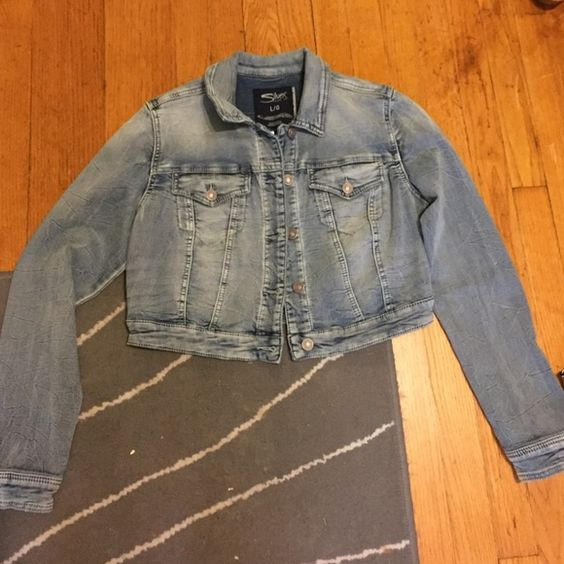 Silver jean jacket Boutique | Coats, Shopping and Silver jeans