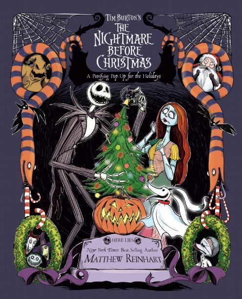 Tim Burton S The Nightmare Before Christmas Pop Up Disney Books Disney Publishing Worldwide Christmas Pops Nightmare Before Christmas Tim Burton
