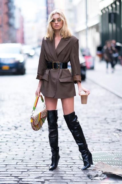 "Aprende a llevar con estilo un ""blazer xl"" | Fashion Assistance"