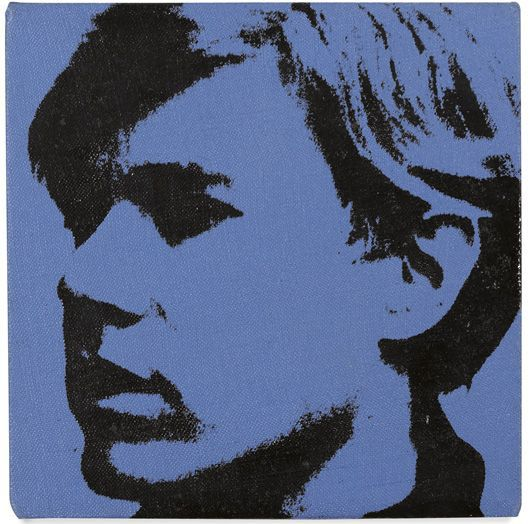 "#AndyWarhol Self Portrait, 1967 Acrylic and silkscreen ink on canvas 8 x 8 inches Signed and dated ""1967 Andy Warhol"" on the overlap; stamped with the Authentication Board seal and numbered ""A114.971"" on the overlap. Provenance Todd Brassner, New York Joseph K. Levene Fine Art, Ltd., New York Private Collection, California LITERATURE G. Frei, N. Printz, and S. King-Nero, eds., The Andy Warhol Catalogue Raisonne, Paintings & Sculpture 1964-1969, New York, 2004, cat. no. 1956."