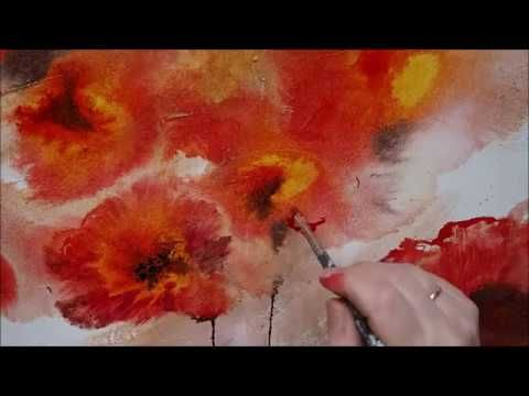 Silver Sky Einfach Malen Abstrakt Easy Painting Abstract