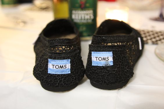 Toms, Wedding Gift, Black Lace