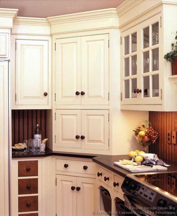 Kitchen With Corner Stove: Kitchen Corner Cabinet, Super Cool!