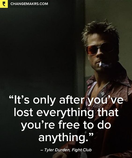 fight club who is tyler durden essay Essays fight club fight club in fight club the id is tyler durden he is the evil side to the protagonist and is the one who created fight club and project mayhem.