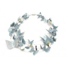 Kaleidoscope Butterfly Necklace