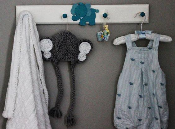 Jailey Bugs Custom Sweet Elephant Crocheted by puzo2352 Roll Tide Roll