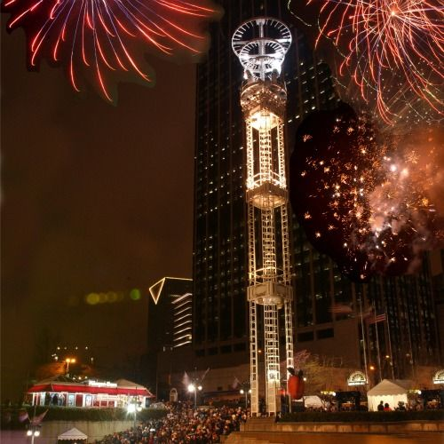Atlanta, New years eve and Peaches on Pinterest