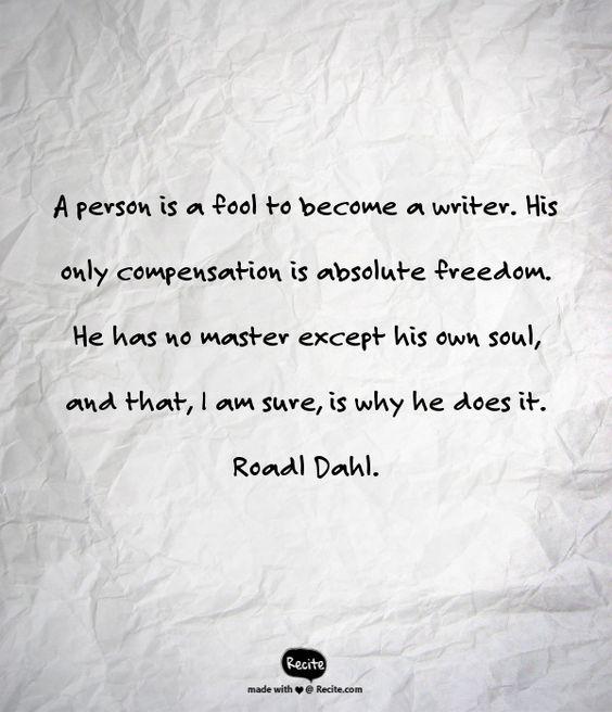 Should I become a writer?