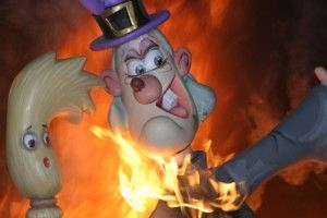 Each year, thousands of tourists from all over the world visit the Fallas in Valencia