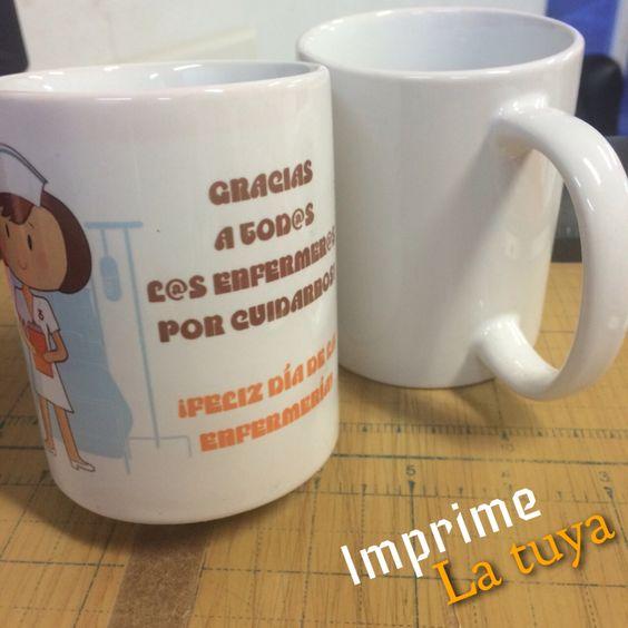Deja una gran impresión con un detalle como este! Sublimar tus tazas con la imagen que quieras! #Litek #ExpertosEnImpresión #PiensaRojo #impresion #decoracion #vinil  #lona #anuncio #imprenta #invitaciones