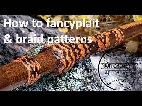 Demo 15 Herringbone Cover Braid W 12 Strands Of Leather Simple And Pretty Youtube Braids Braid Patterns Braided Leather
