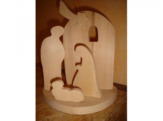 Creche noel entre art et artisanat pinteres - Comment faire une belle creche de noel ...