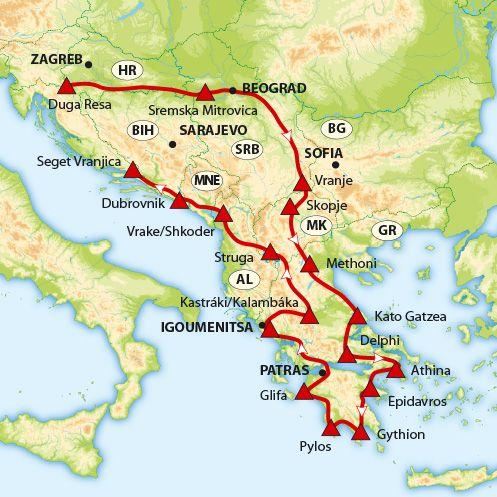Griekenland Griekenland Athene Albanie