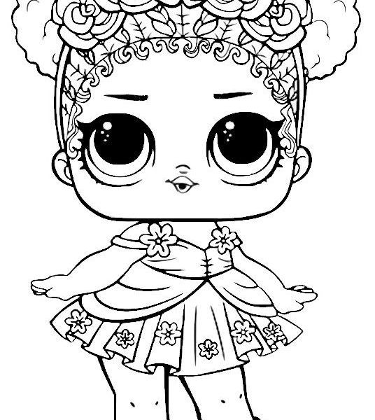 Flower Child Series 3 Lol Surprise Doll Coloring Page Digital Coloring Book Pages Lol Coloring Pages Coloring Pages Coloring Book Pages Coloring Books