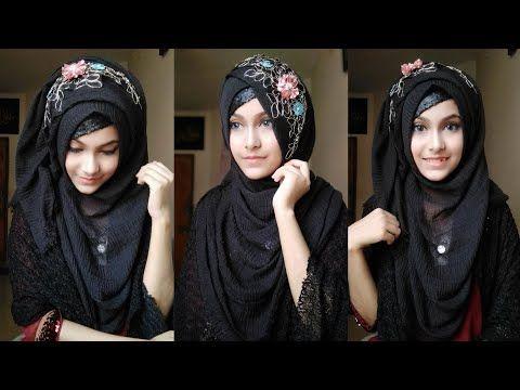 Gorgeous Hijab Style With Crinkle Hijab Noshin Nower Youtube Hijab Modern Hijab Fashion Hijabi Fashion