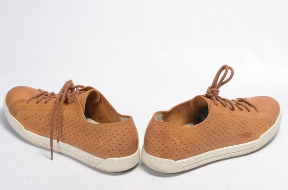 Womens Brown Suede Oxford Shoes