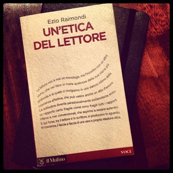 Un'opera trova il suo senso nella risposta del lettore #libro #lettura #ilmulinoedizioni cosaleggi.wordpress.com