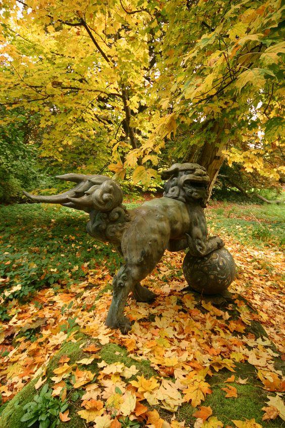 Batsford Arboretum in Autumn