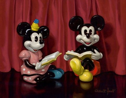 "Disney ""TELL US A STORY"" Size: 14 x 18 