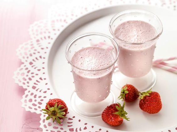 RECEITA THERMOMIX: Milkshake de morango