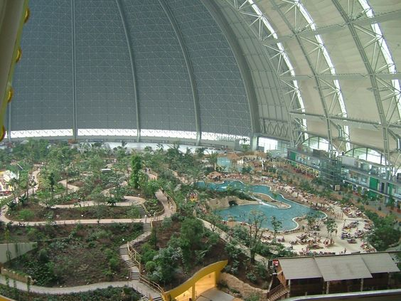 berlin germany tropical island swimming pool inside a zeppelin hangar near berlin very big. Black Bedroom Furniture Sets. Home Design Ideas