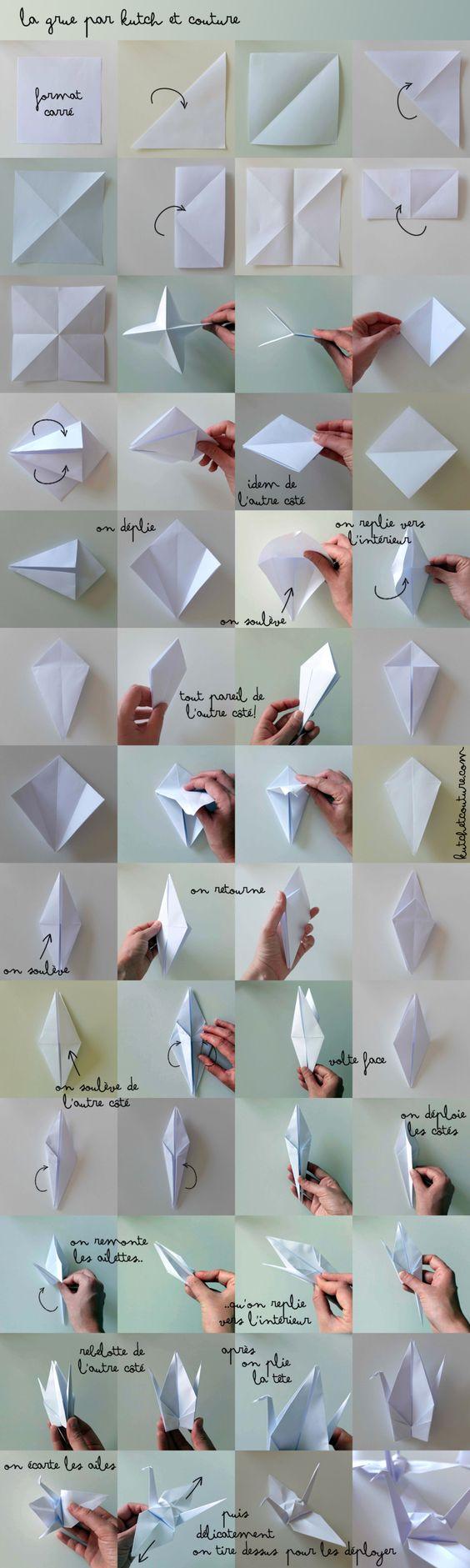origami distance and mobiles on pinterest. Black Bedroom Furniture Sets. Home Design Ideas