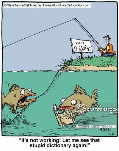 Animals fish fishing fisherman anglers fishing rod for Funny fishing cartoons