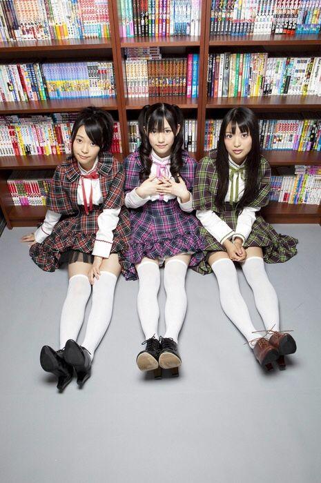 Sasshi, Mayuyu and Kitarie #AKB48 #HKT48 #NGT48