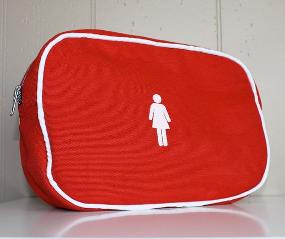 Hand Made Screen Printed Toiletry Bag / Travel Bag / Bathroom Bag / Cosmetic Bag on Etsy, $30.00 CAD