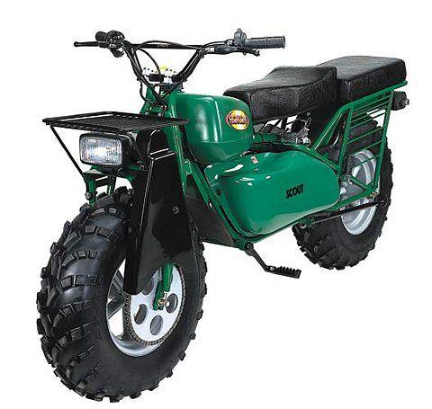 2 wheel drive rokon scout | motorcycle motorized scrambler