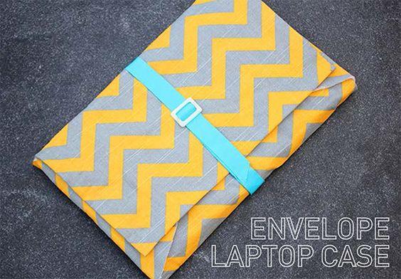 I Spy DIY: [My DIY] Envelope Laptop Case