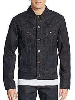 RAG & BONE Denim Jacket. #ragbone #cloth #jacket
