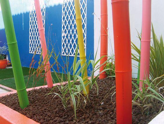 Cannes bambous color es jardin pinterest terrasse - Jardin de bambou cannes ...