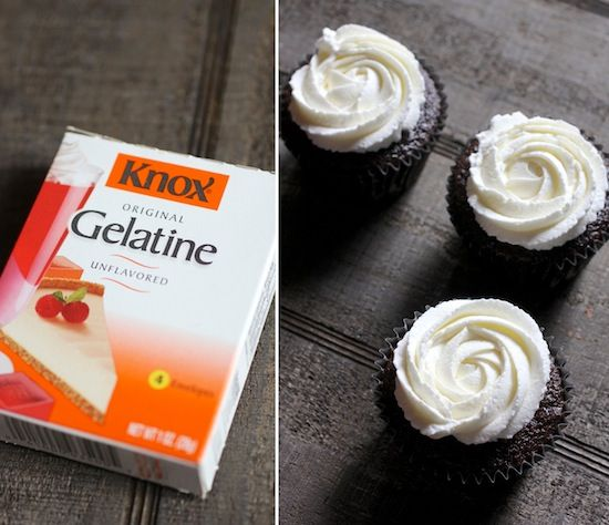 Yes, that's whipped cream on those cupcakes - that is not frosting. And that whipped cr...