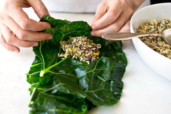 Stuffed Collard Greens — Recipes for Health - NYTimes.com
