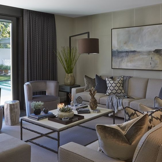 Sophie Paterson Interiors: Beachy Blue And White With A Contemporary Style In This