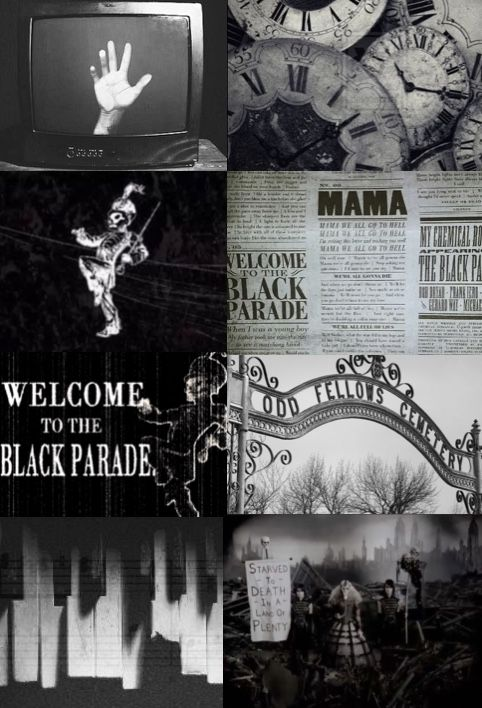 The Black Parade Aesthetic My Chemical Romance My Chemical Romance Wallpaper My Chemical Romance Tumblr My Chemical Romance