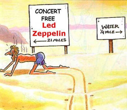 ☮ American Hippie Classic Rock Music   Led Zeppelin . . . Humor Quote
