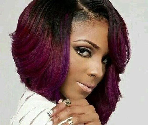 Magnificent Best Hairstyles Bobs And Black Women On Pinterest Short Hairstyles For Black Women Fulllsitofus